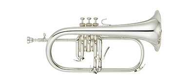 Yamaha YFH-8310ZG S Bb-Flugehorn Pro Shop Series, Silverplate