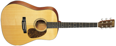 Martin Guitars D-16GT 16er Series Natural Dreadnought, Spruce Top, Case
