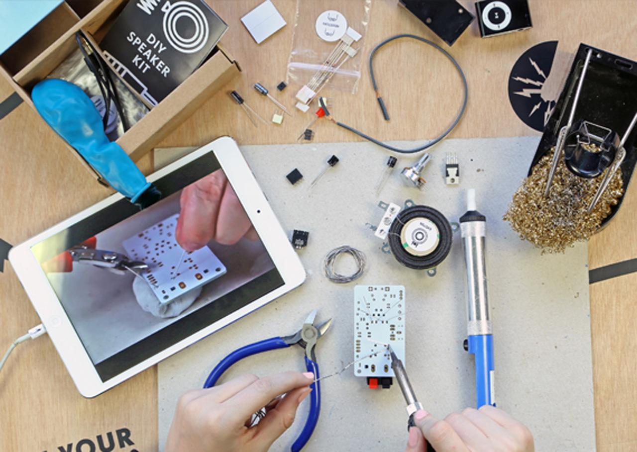 Technology Will Save Us DIY Speaker Kit | DV247 | en-GB
