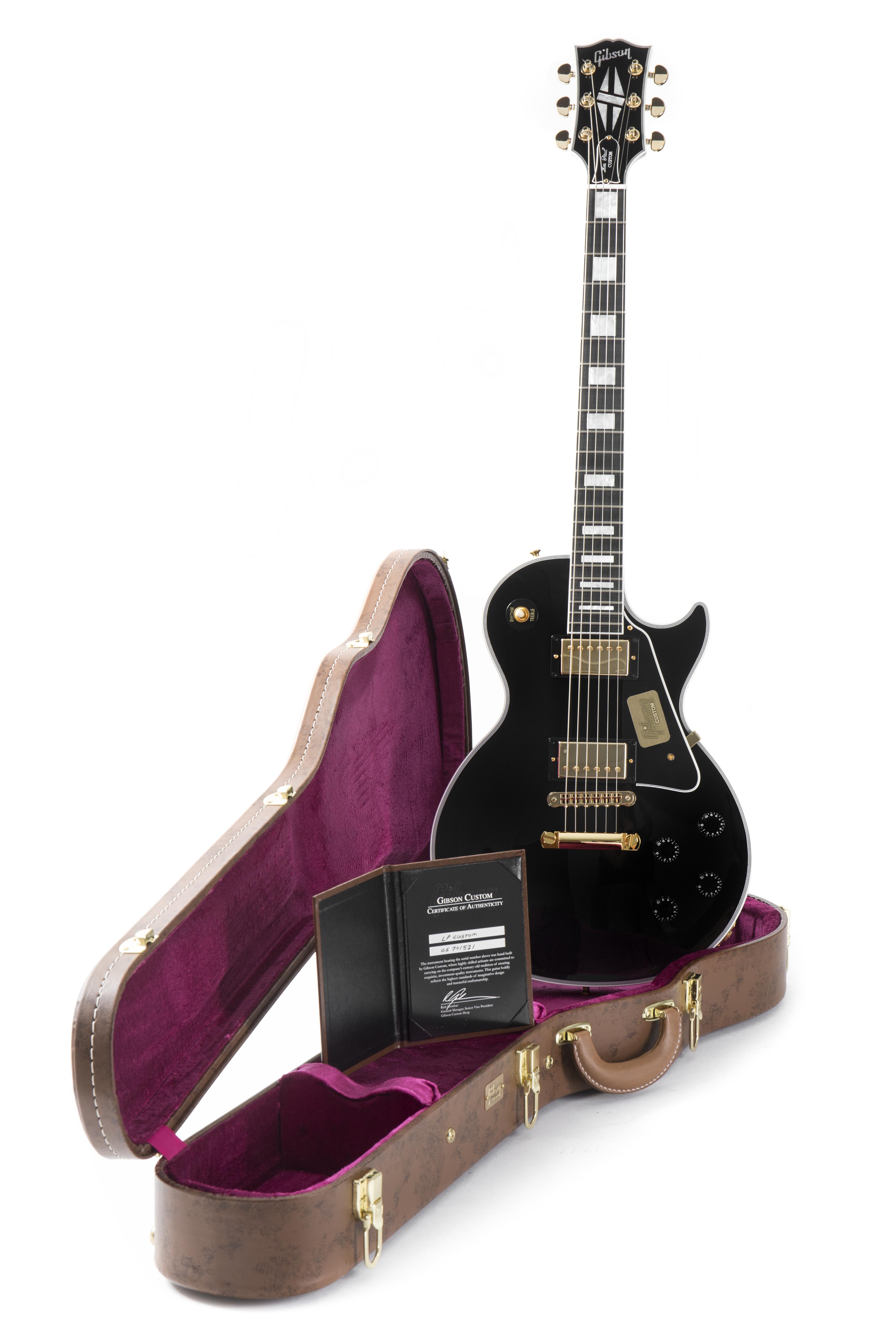 Gibson Les Paul Custom Ebony | DV247 | en-GB