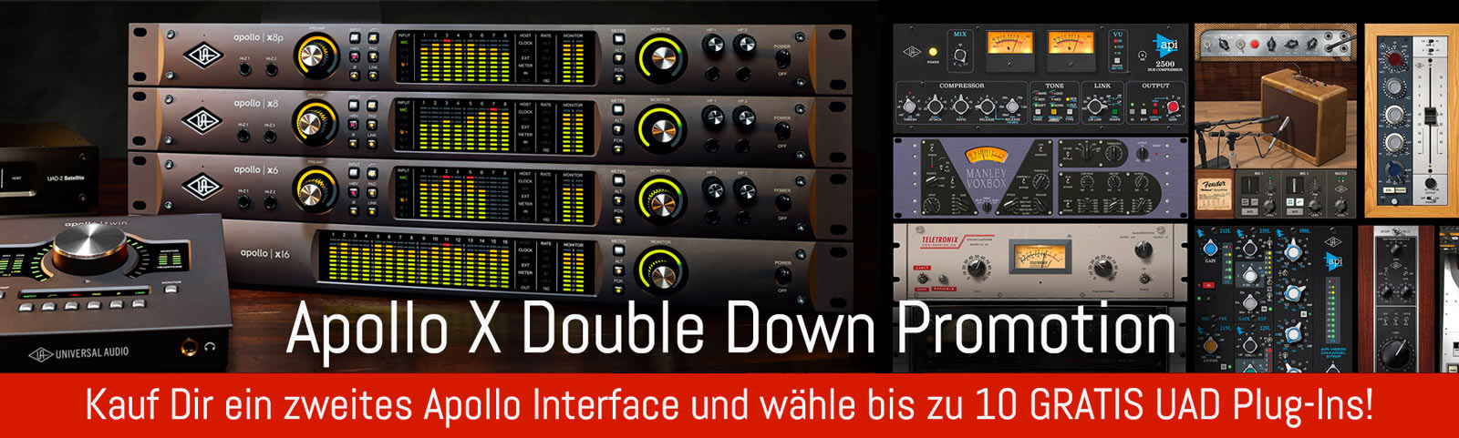 Universal Audio Apollo Twin MKII Quad | DV247 | en-GB