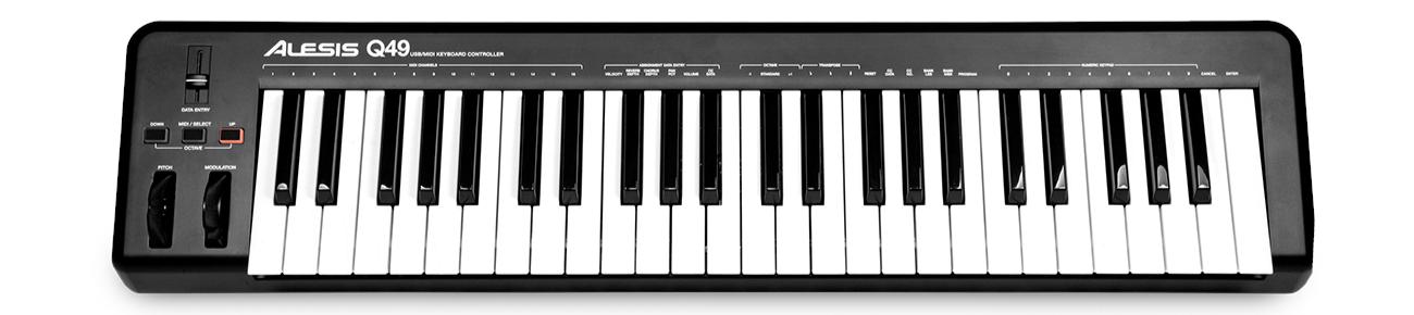 alesis q49 usb midi keyboard controller dv247 en gb. Black Bedroom Furniture Sets. Home Design Ideas